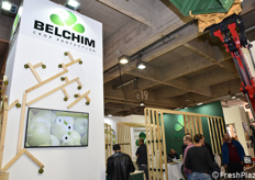 Lo stand Belchim Crop Protection.