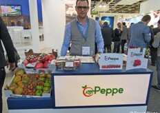 Luca Peppe della AgriPeppe Soc. Coop. Agr.