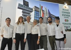 Graziani packaging, il team presente in fiera quasi al completo