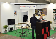 Lo stand Holland Farming Italia