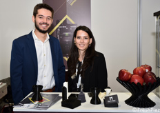 Tommaso Bulgari, del reparto R&D Mark One, con una sua collega