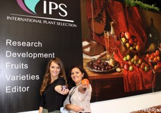 Edwige Remy e Gloria Guerra Perez in rappresentanza di IPS-International Plant Selection.
