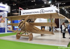 "Un volo ""sostenibile"" per International Paper."