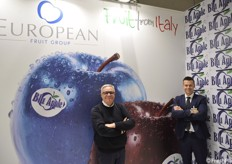 European Fruit Group, player di livello europeo nel comparto mele, presente a Madrid con i titolari Renato e Nicola Detomi
