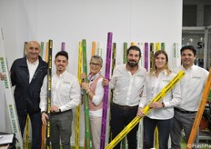 Il team Graziani Packaging con i famosi angolari Magic Corner