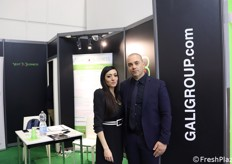 Gali Group. Romina Roccasalva (commerciale) e Angelo Galifi (direttore logistico)