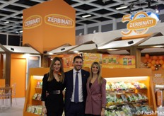 Zerbinati Srl: Silvia Natta (marketing department), Simone Zerbinati (direttore generale) e Stefania Callegari (sales department).