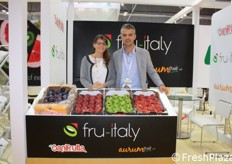 Sonia Forgia e Enzo Garnero di Aurum Fruit.