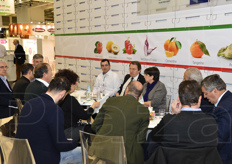 Presso l'area meeting della collettiva Italy si e' svolto il meeting dell'IKO (International Kiwifruit Organization).