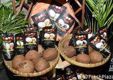 """PookSpaFoods (Germania), vincitrice del Fruit Logistica Innovation Award 2018 con ""Pook Coconut Chips"""