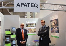 Rolf Walterscheid-Muller (consulente commerciale) e Martin Dirk (chief sales officier) di Apateq Group, specialista in trattamento delle acque.