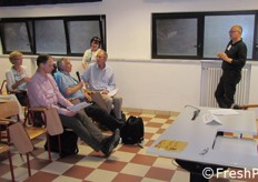 Discussione durante il parallel workshop 3